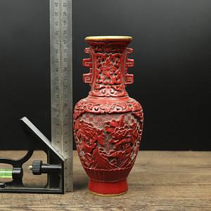 旧藏铜胎漆器瓶