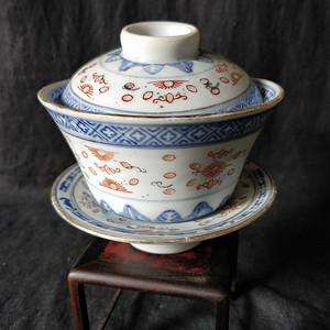 567玲珑瓷茶碗