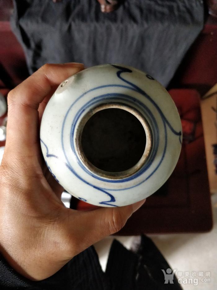 明末青花茶壶残件图5