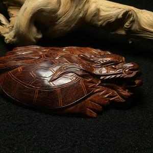 联盟 印度小叶紫檀龙龟 荣归