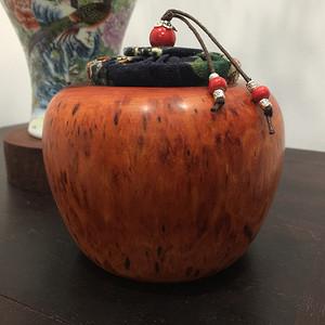 联盟 非洲紫檀茶叶罐