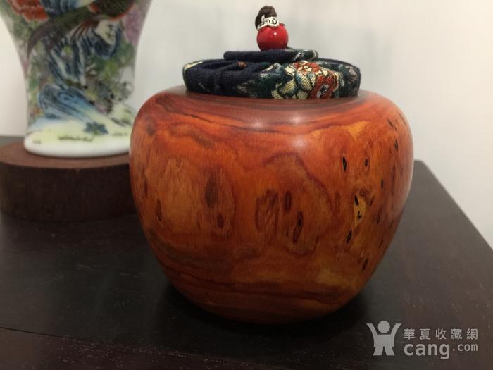 联盟 非洲紫檀茶叶罐图4