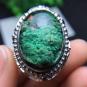 超美绿幽灵戒指