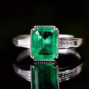 精美超值祖母绿戒指10 8