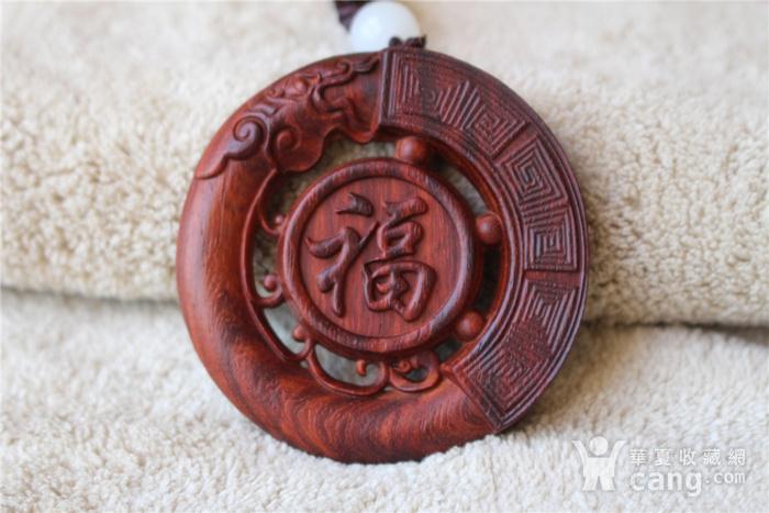 小叶紫檀 福龙 大圆牌图5