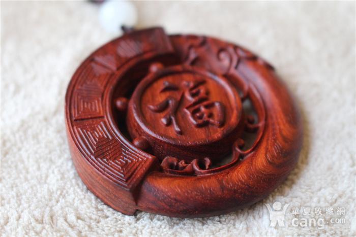 小叶紫檀 福龙 大圆牌图6
