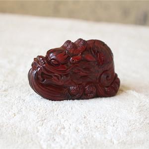 印度小叶紫檀名家精工 龙鱼