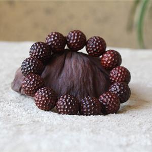 小叶紫檀1.8锤纹珠