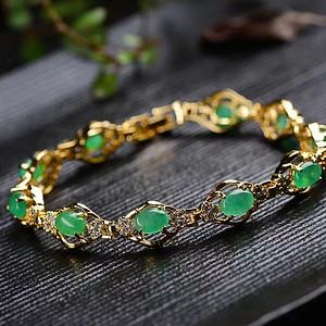 时尚个性新款镀k金手链