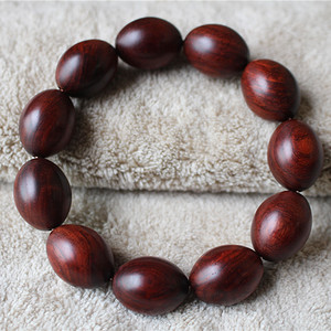 小叶紫檀15 20mm橄榄珠