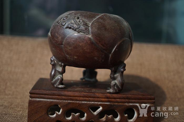旧铜小香炉图1