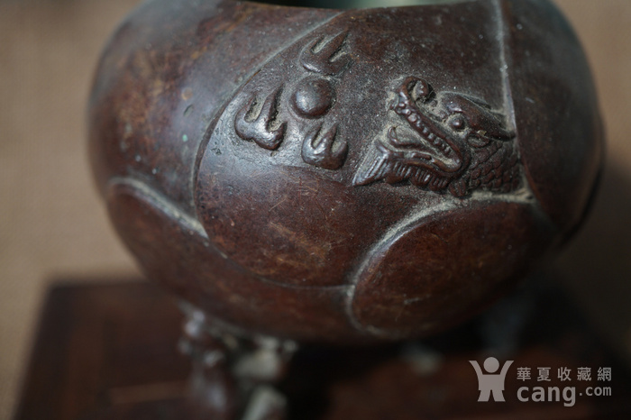 旧铜小香炉图5