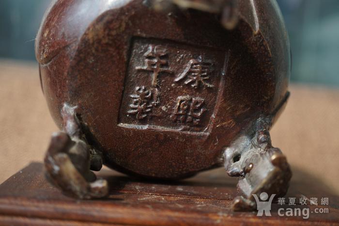 旧铜小香炉图7