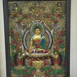 清朝鎏金佛像