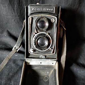 老相机一台