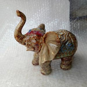 联盟 大象瓷摆件