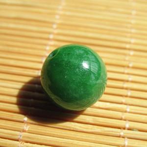 建国前后 满辣绿 翡翠 单珠