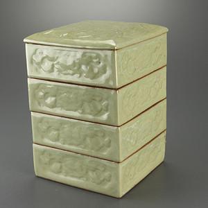 联盟 回流青瓷 四层套盒