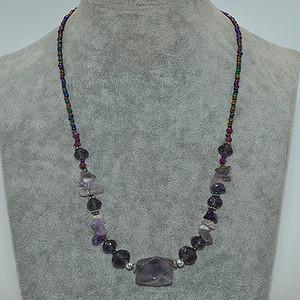 20.9克紫水晶项链