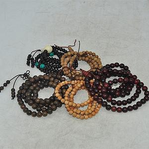 木珠手串五条100克
