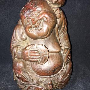 竹雕  39 刘海戏金蟾