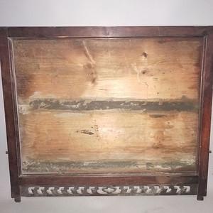 红酸枝老画框