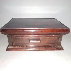 皮壳漂亮红酸枝盒子B
