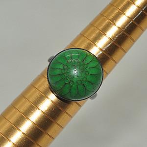100年左右5.4克景泰蓝老戒指