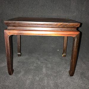 红木桌型小底座
