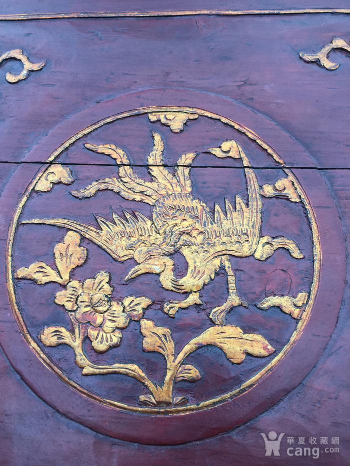木雕 凤穿牡丹图4
