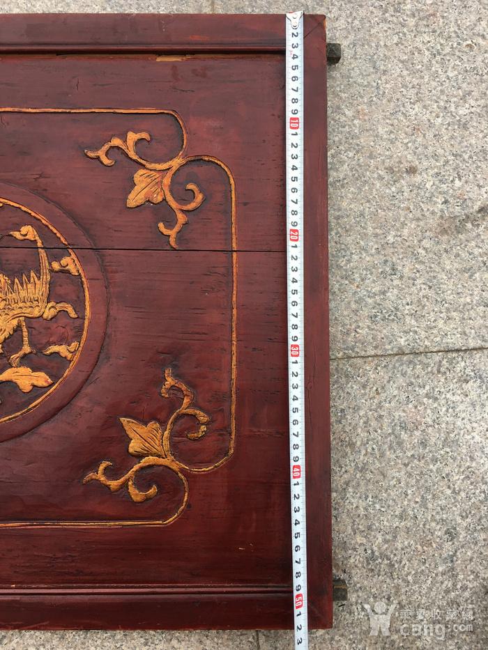 木雕 凤穿牡丹图10