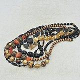 日本装饰项链五条