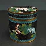 清代景泰茶叶罐
