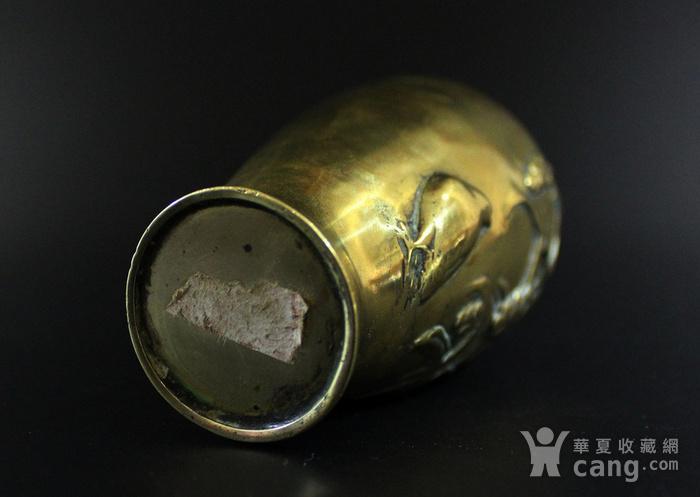 清 19 20世纪 铜花瓶图3