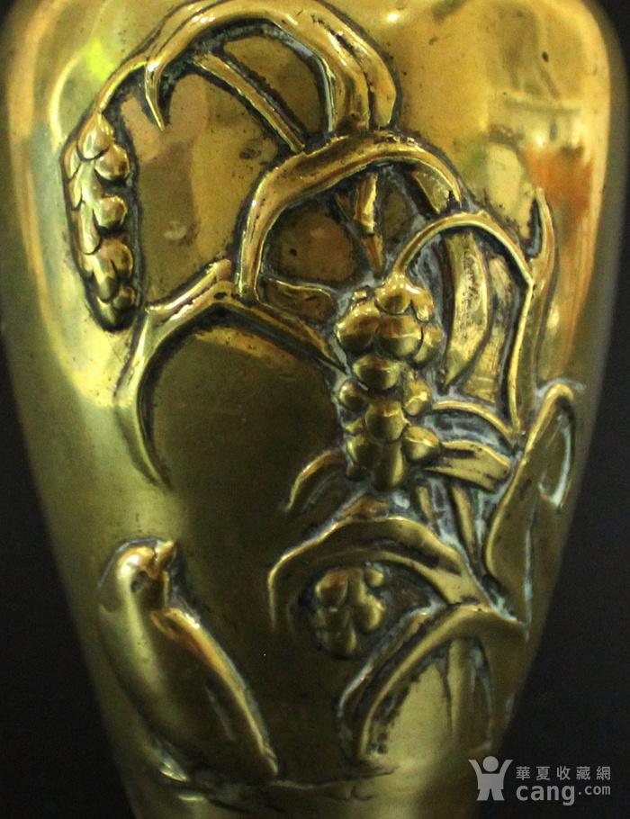 清 19 20世纪 铜花瓶图5