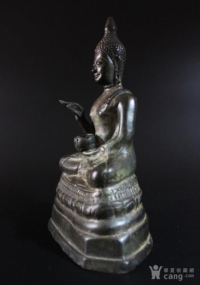 馆藏 明 14世纪或更早  青铜佛造像图4