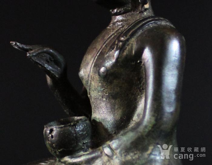 馆藏 明 14世纪或更早  青铜佛造像图8