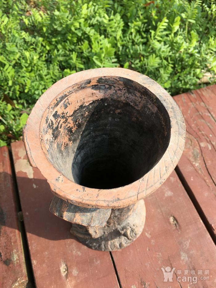 树桩型陶艺摆件图4