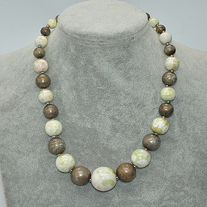 57克瓷珠项链