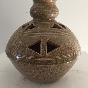 高古青瓷熏炉