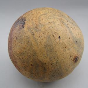124.宋 搅胎瓷马球