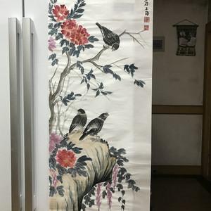 现代国画 花鸟图
