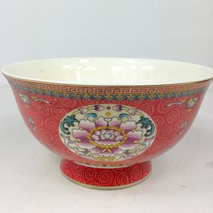 联盟商户 清乾隆花珐琅彩瓷碗