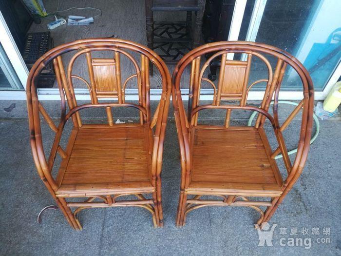 一对非常漂亮的竹圈椅图2