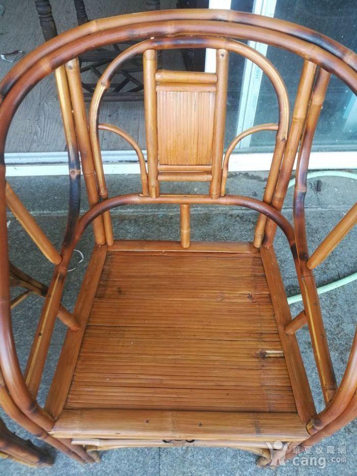一对非常漂亮的竹圈椅图3