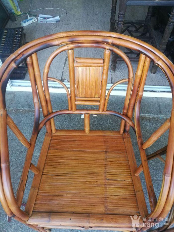 一对非常漂亮的竹圈椅图4
