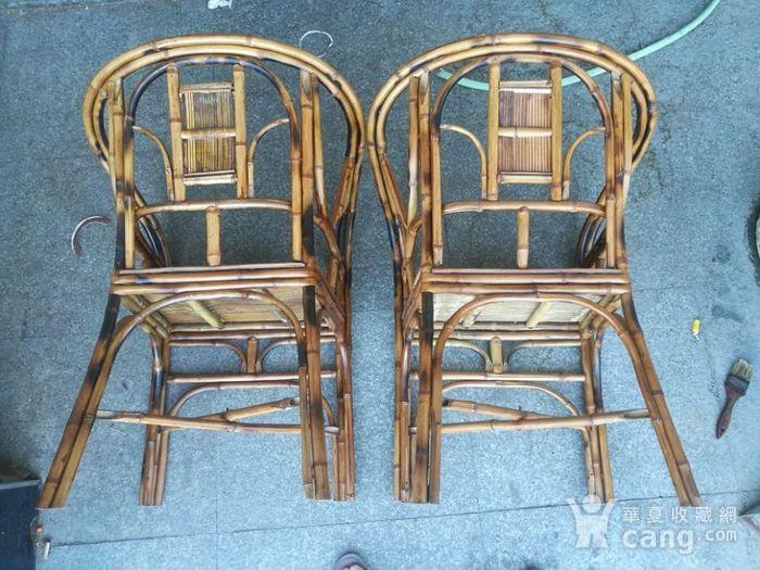 一对非常漂亮的竹圈椅图8