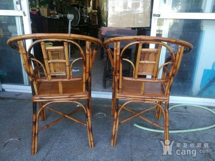 一对非常漂亮的竹圈椅图7