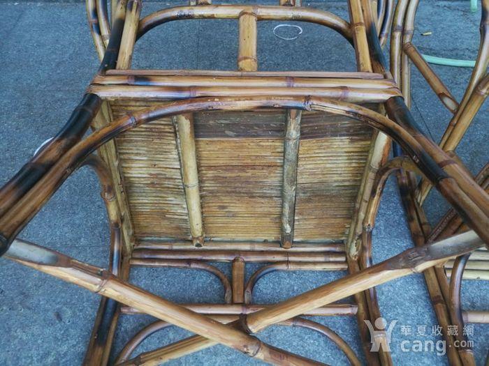 一对非常漂亮的竹圈椅图5