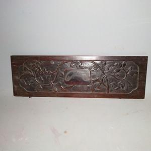 红酸枝雕刻板一片